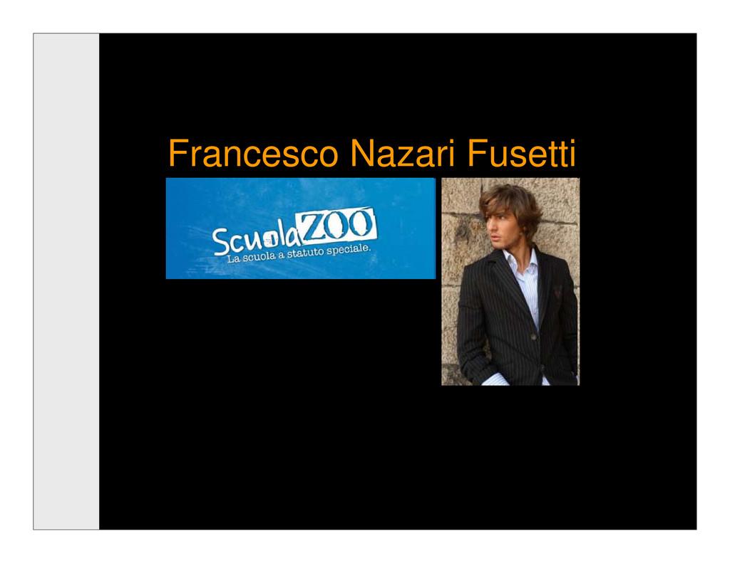 Francesco Nazari Fusetti