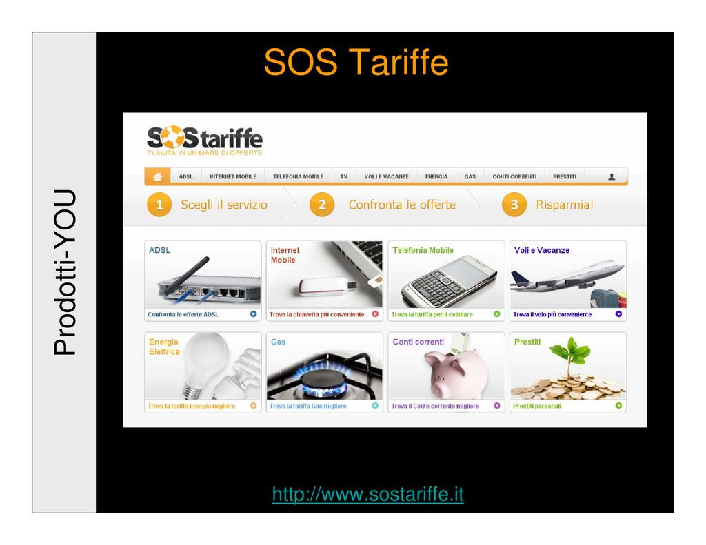 Prodotti-YOU SOS Tariffe http://www.sostariffe....