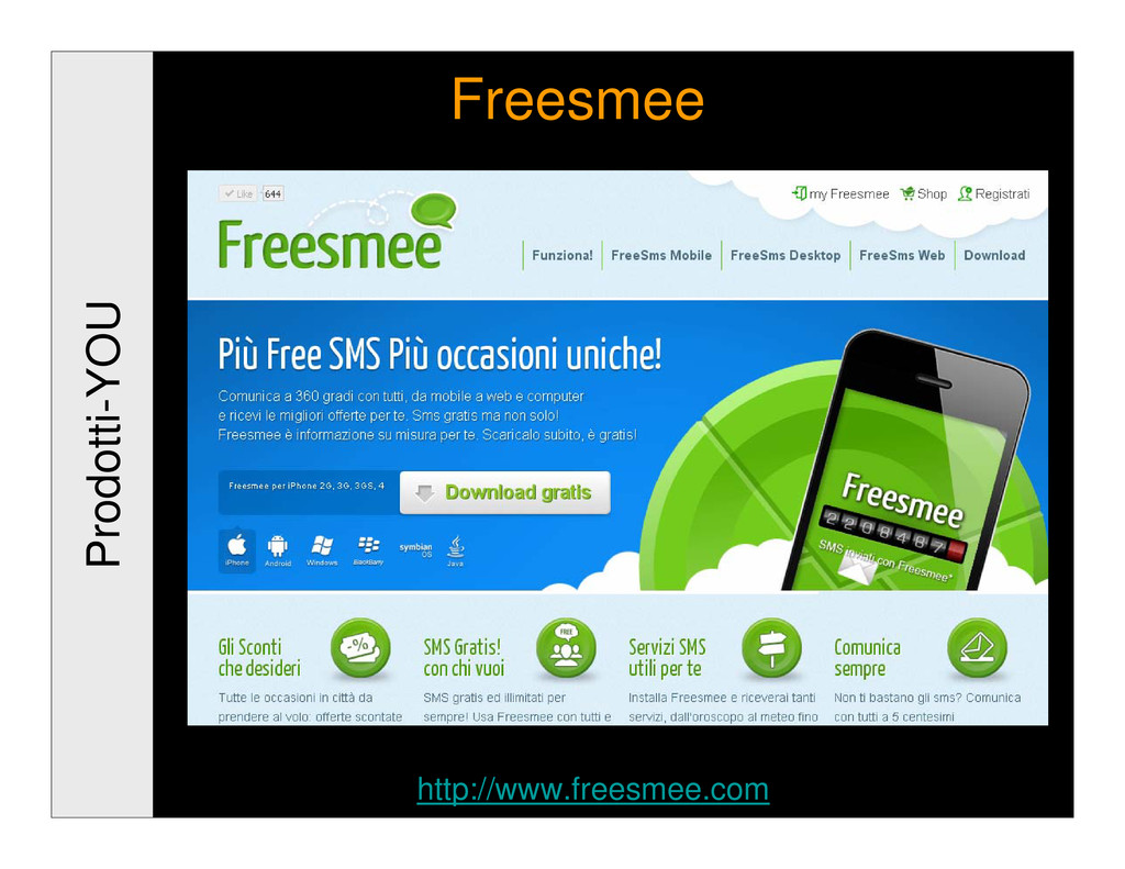 Prodotti-YOU Freesmee http://www.freesmee.com
