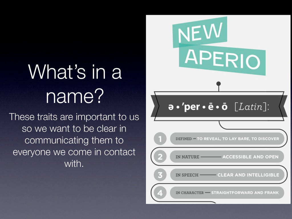 What's in a name? These traits are important to...