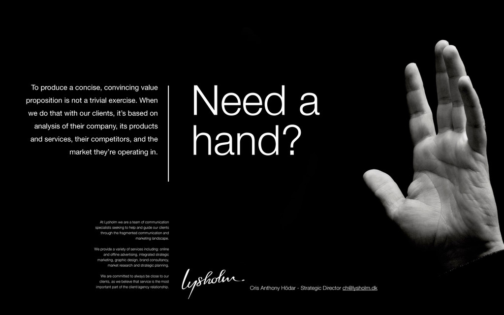 Need a hand? To produce a concise, convincing v...