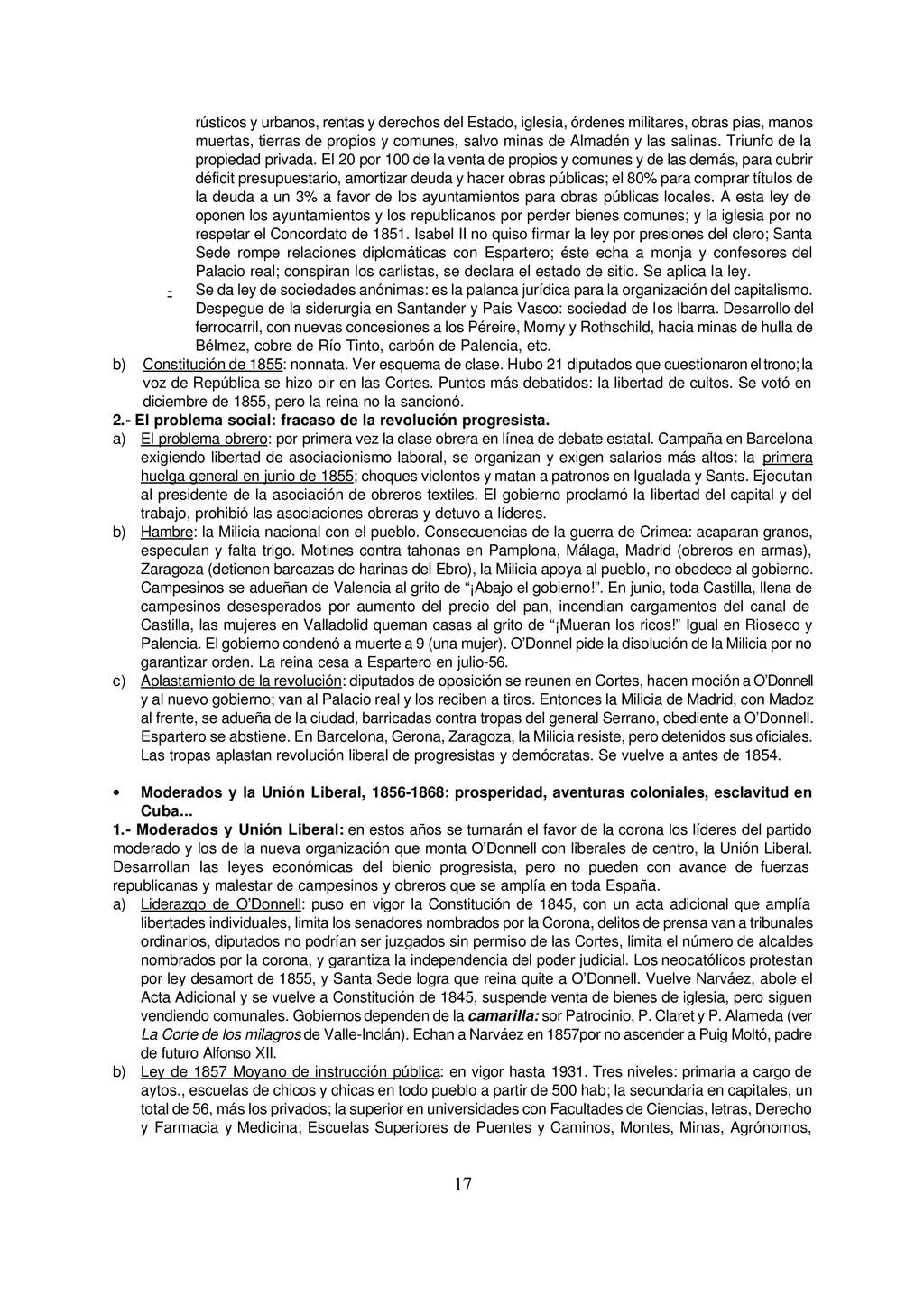 17 rústicos y urbanos, rentas y derechos del Es...