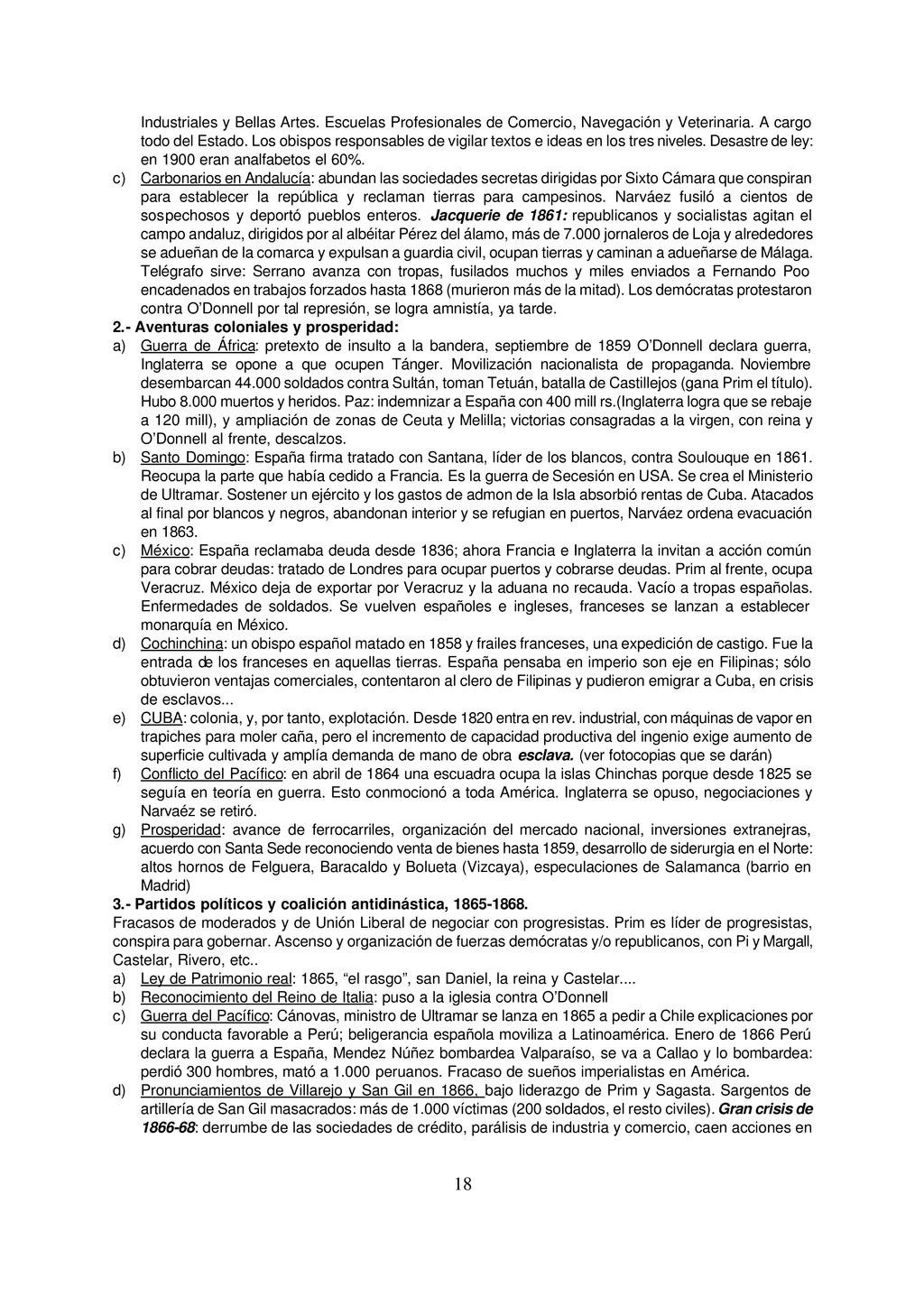 18 Industriales y Bellas Artes. Escuelas Profes...
