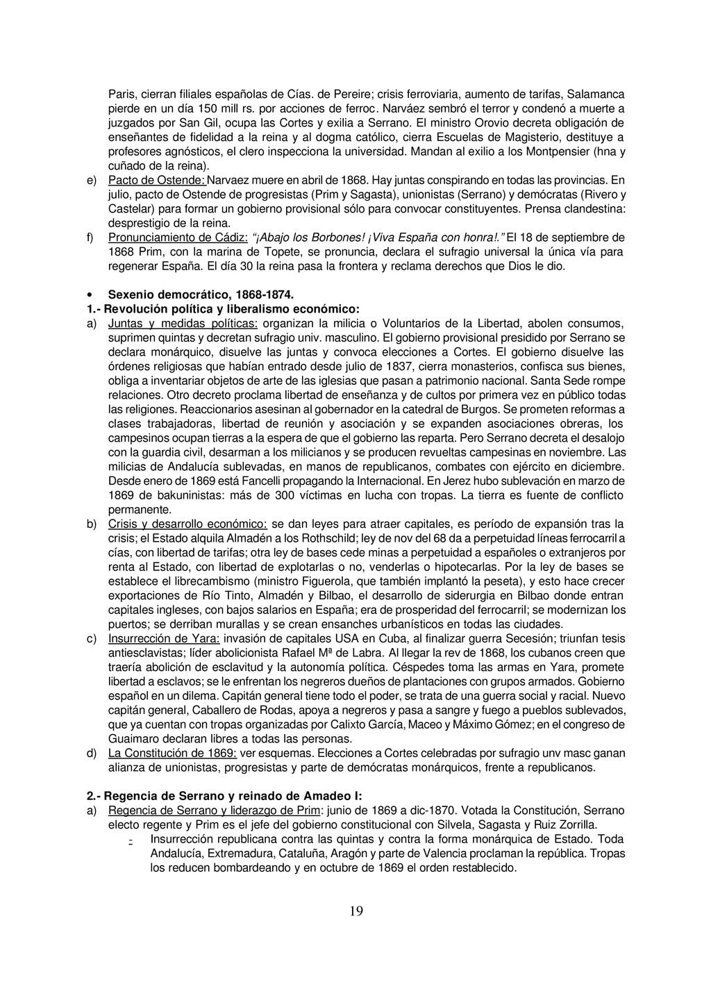 19 Paris, cierran filiales españolas de Cías. d...