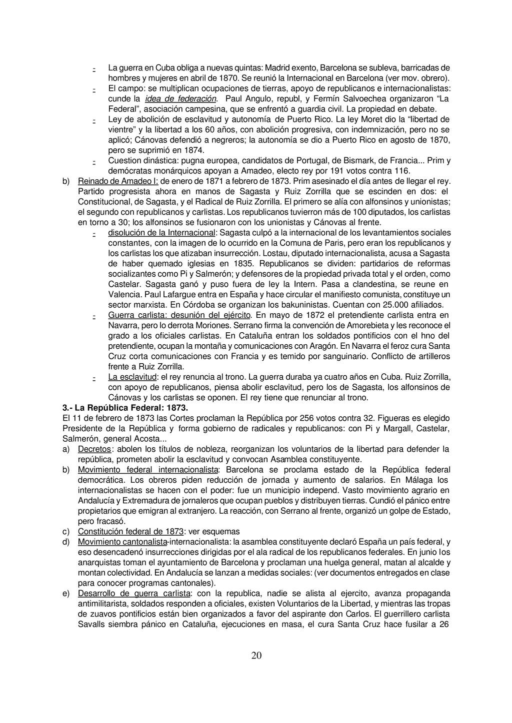 20 - La guerra en Cuba obliga a nuevas quintas:...