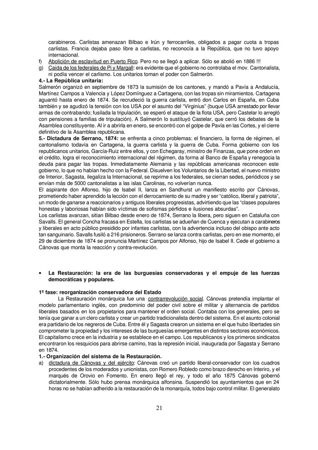 21 carabineros. Carlistas amenazan Bilbao e Irú...