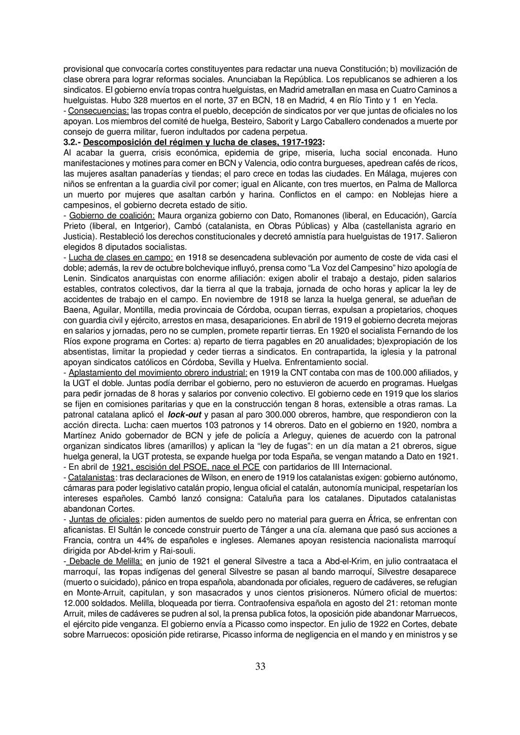33 provisional que convocaría cortes constituye...