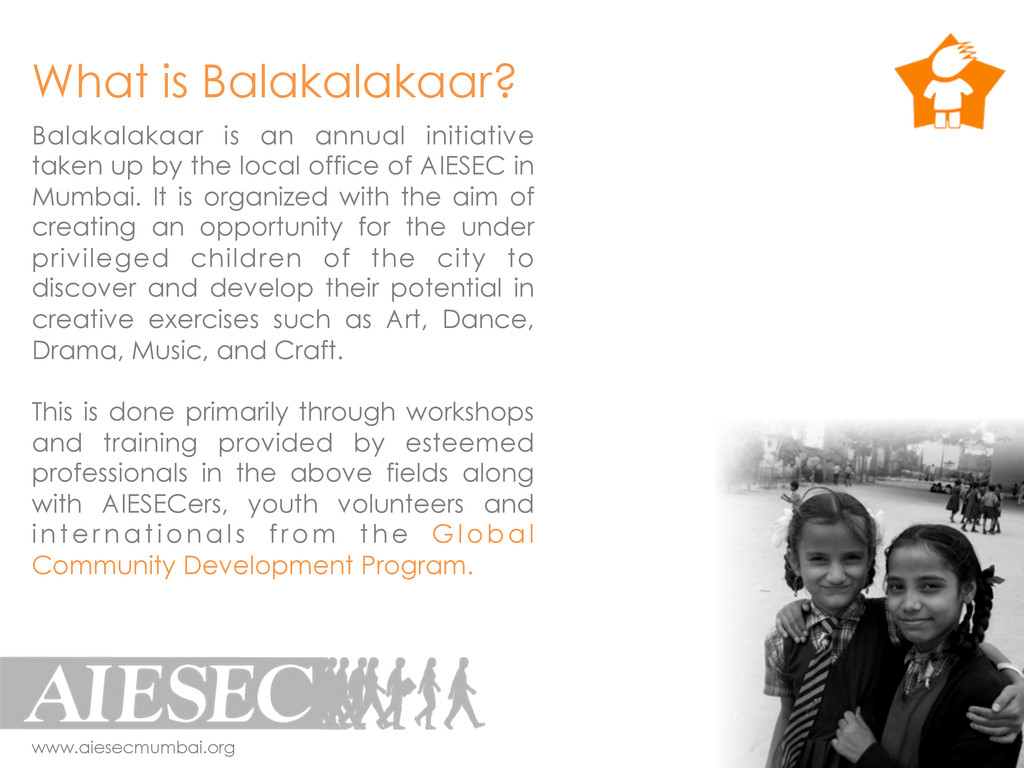 Balakalakaar is an annual initiative taken up b...