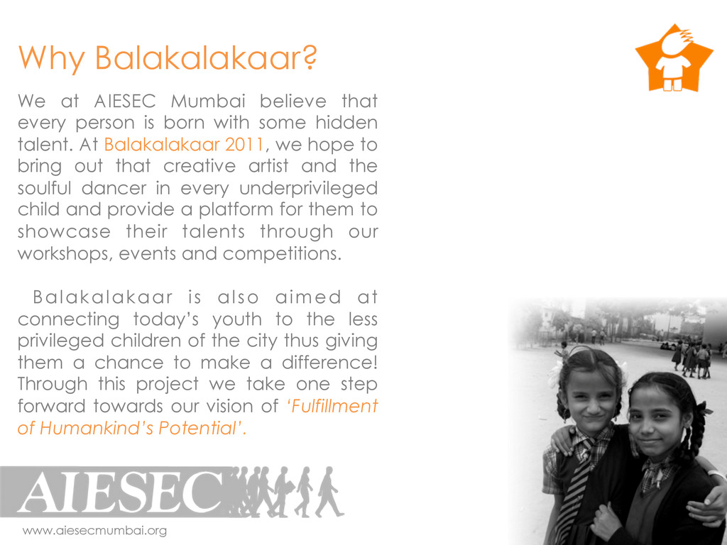 We at AIESEC Mumbai believe that every person i...