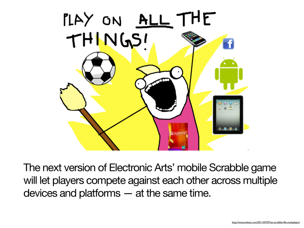 The next version of Electronic Arts' mobile Scr...
