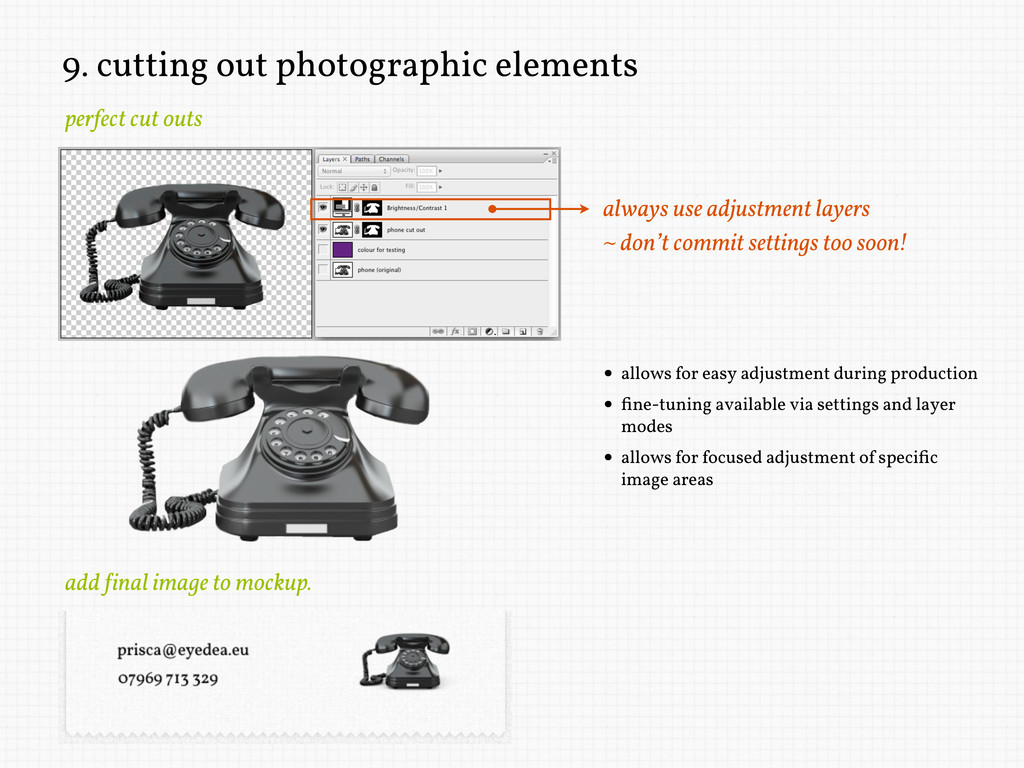9. cutting out photographic elements perfect cu...