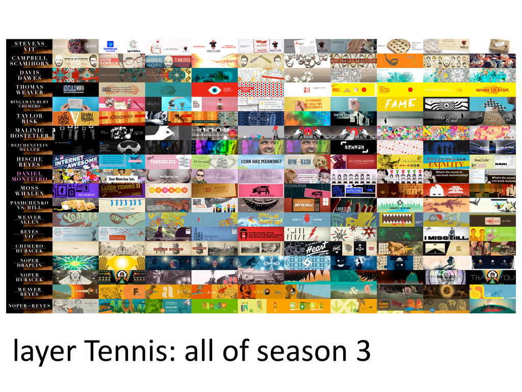 layer  Tennis:  all  of  season  3