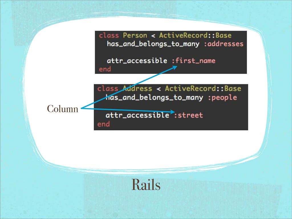 Rails Column