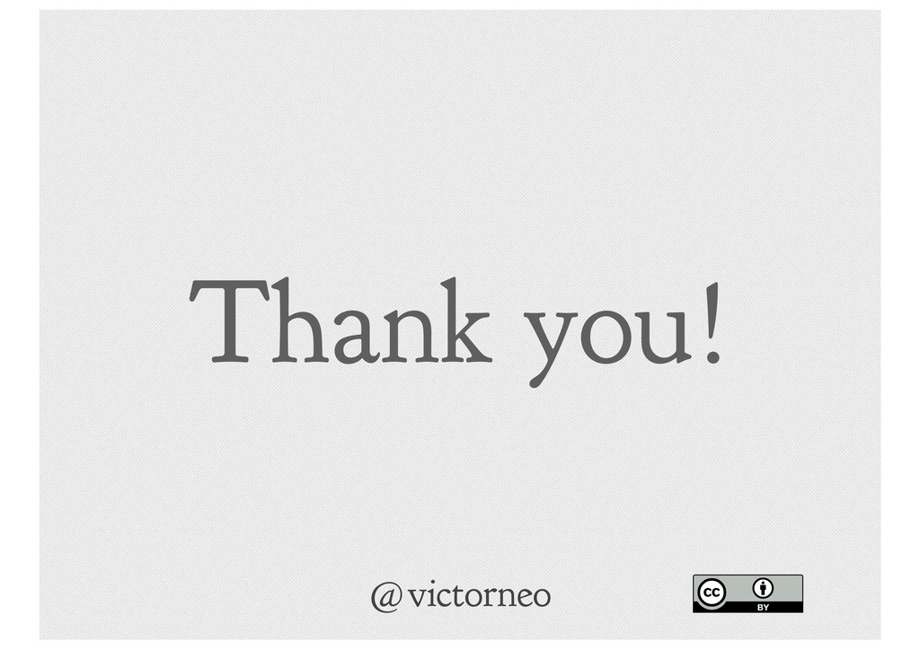 Thank you! @victorneo