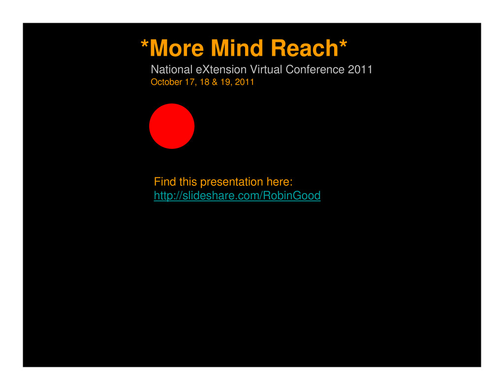 Find this presentation here: http://slideshare....