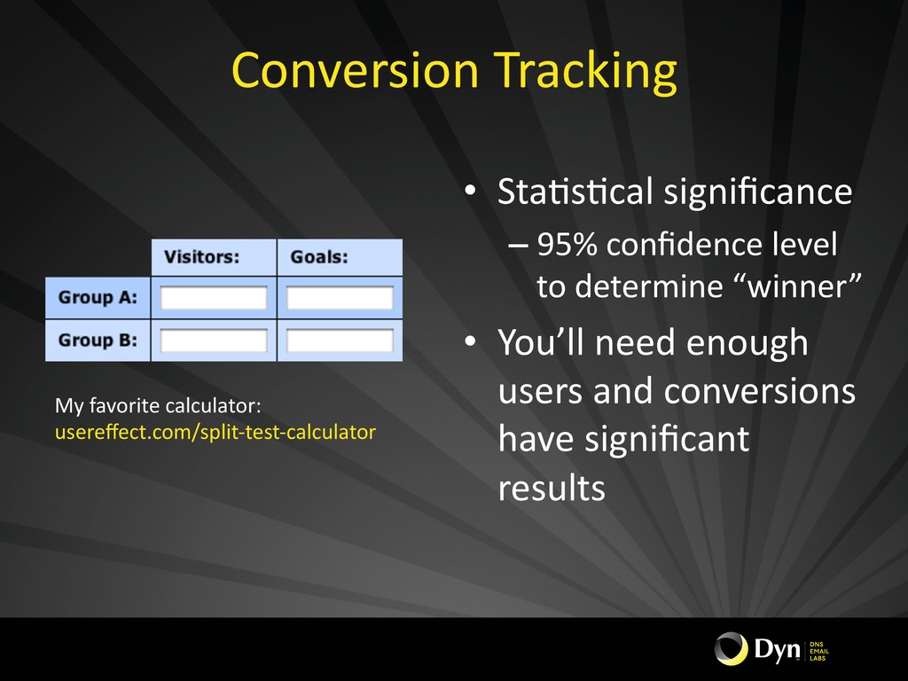 Conversion	
