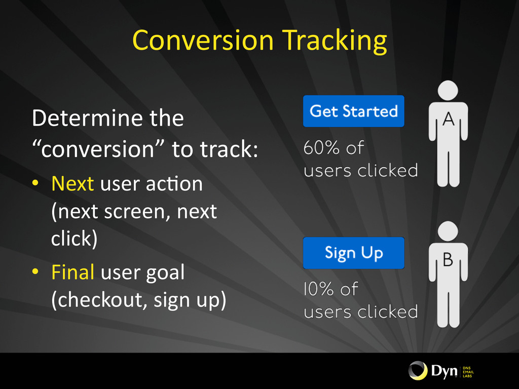 Conversion Tracking  Determine the ...