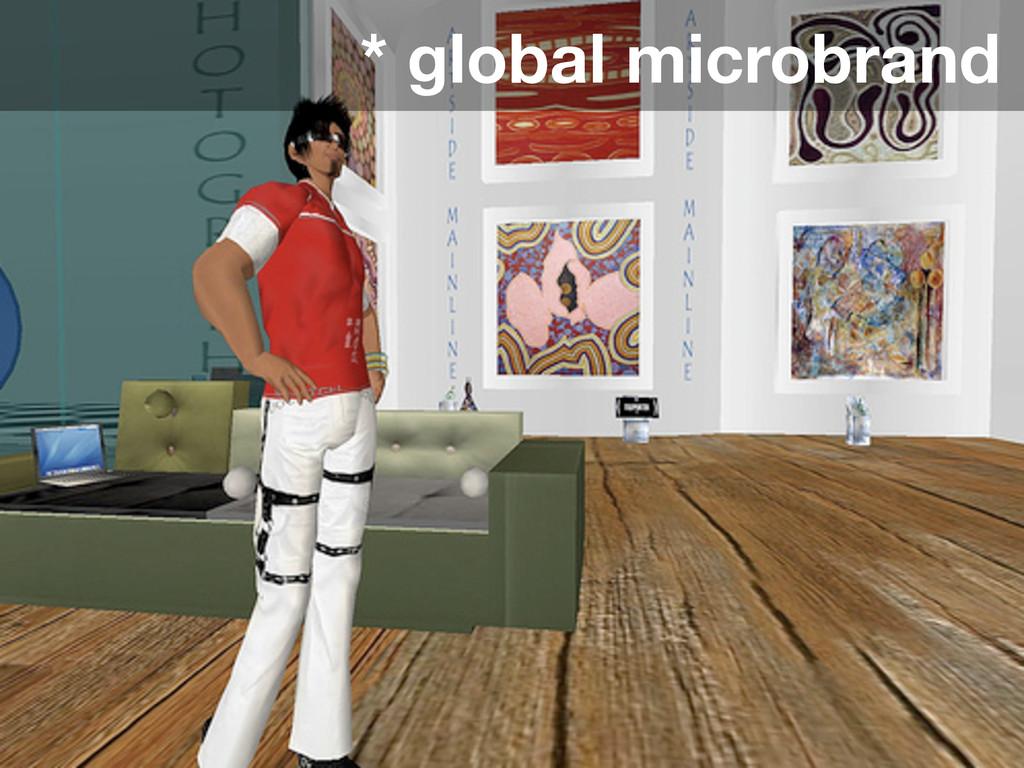 * global microbrand