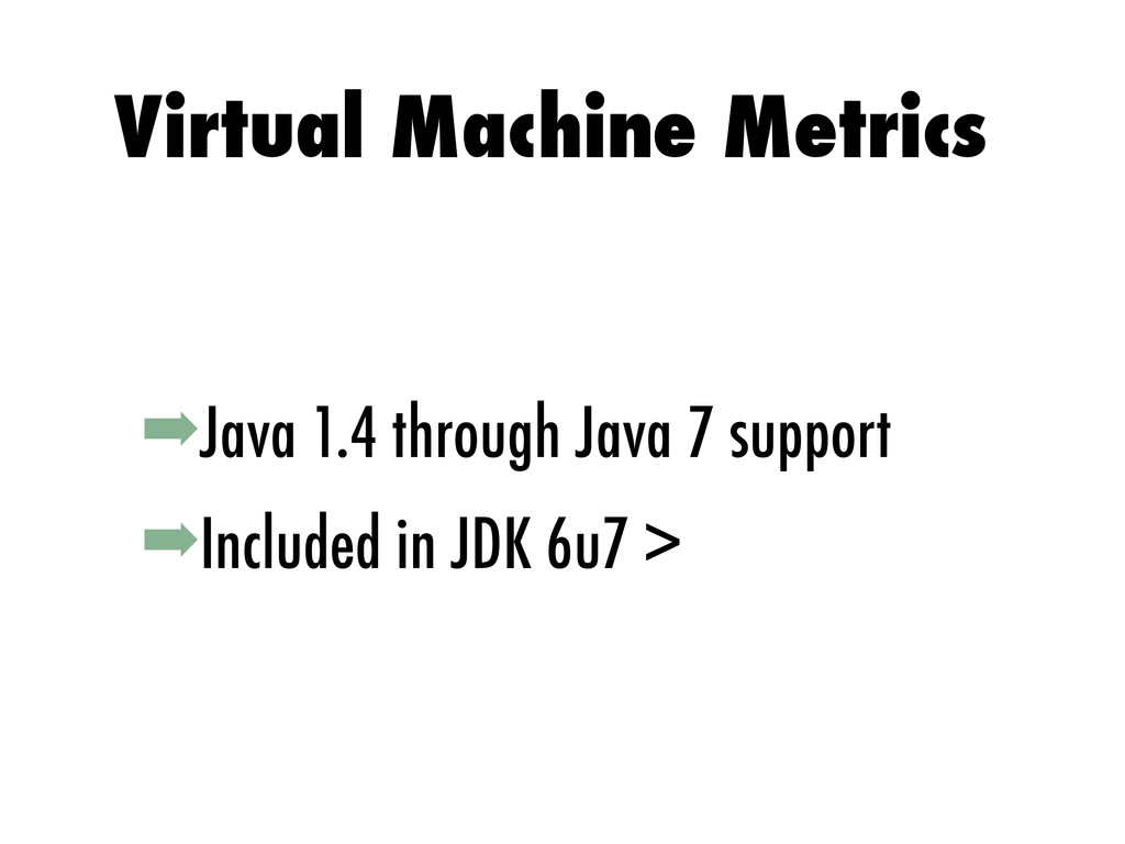 ➡Java 1.4 through Java 7 support ➡Included in J...