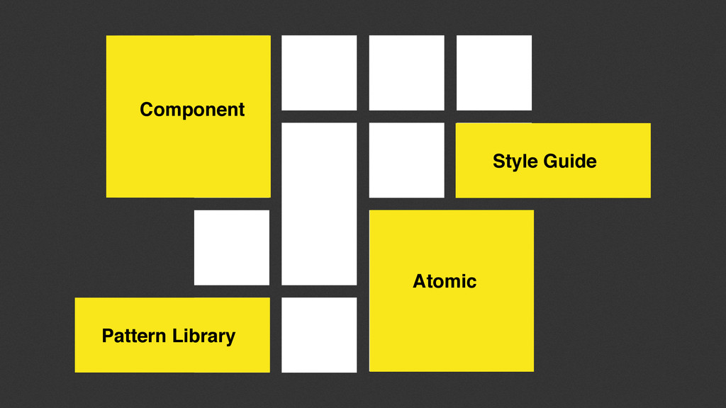 Atomic Style Guide Component Pattern Library