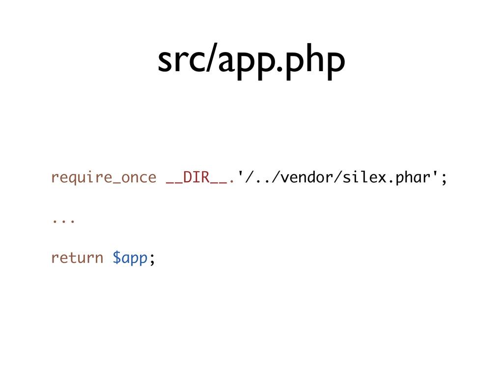src/app.php require_once __DIR__.'/../vendor/si...