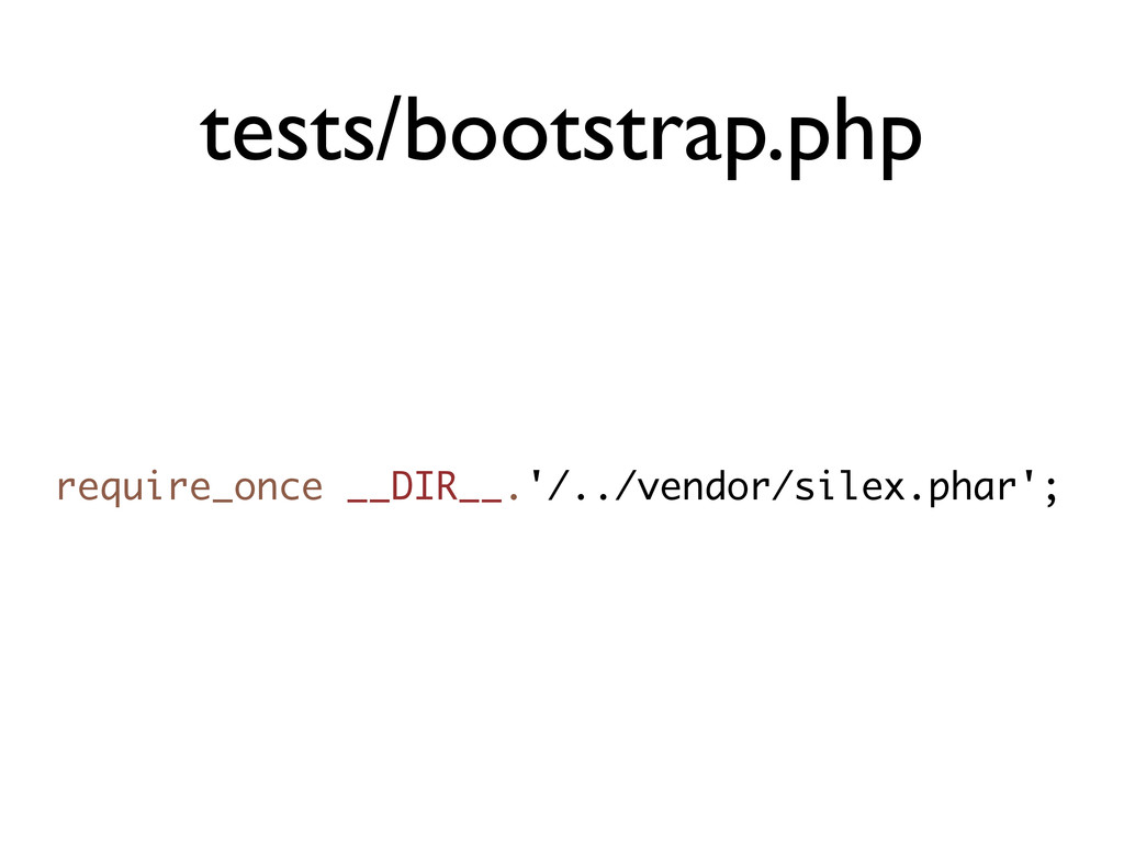 tests/bootstrap.php require_once __DIR__.'/../v...