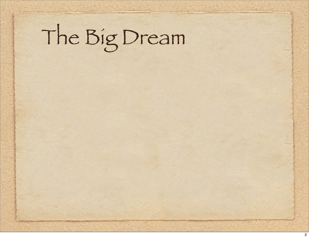 The Big Dream 2