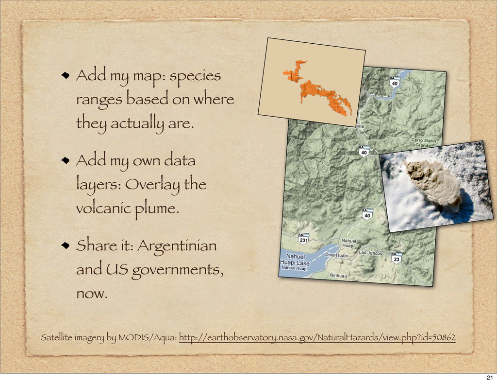 Add my map: species ranges based on where they ...