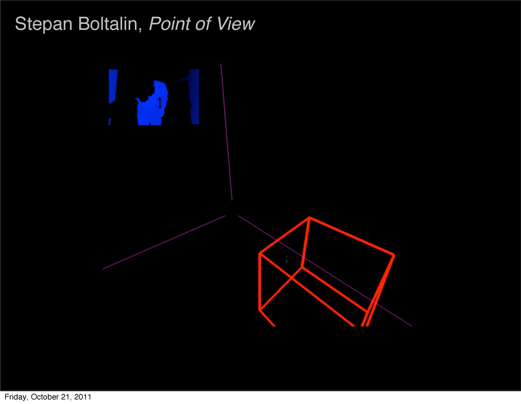 Stepan Boltalin, Point of View Friday, October ...