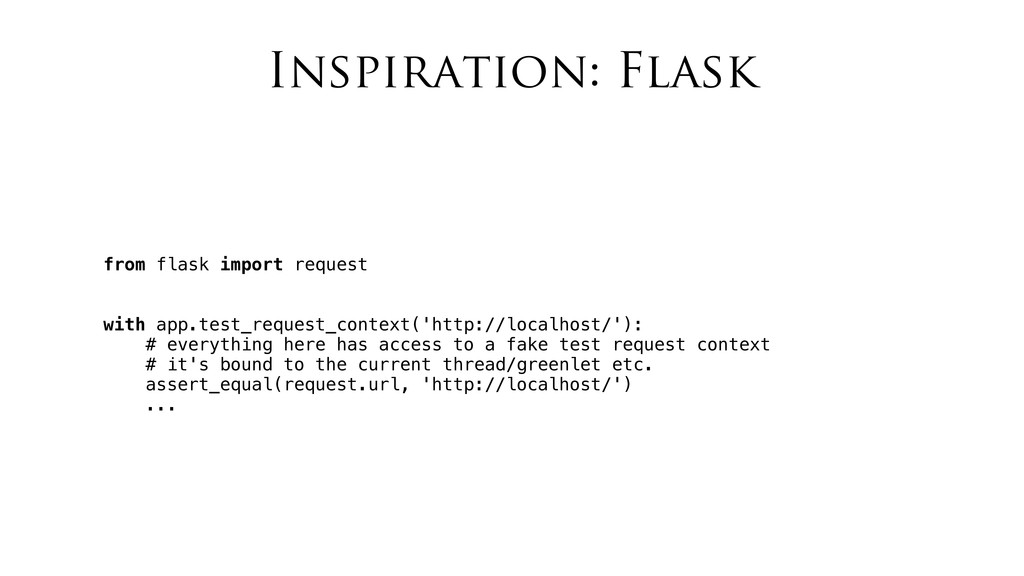 Inspiration: Flask from flask import request wi...