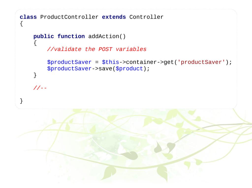 class ProductController extends Controller { pu...