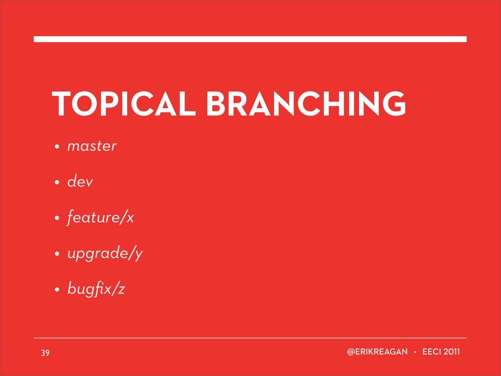 ERIKREAGAN • EECI TOPICAL BRANCHING • master • ...