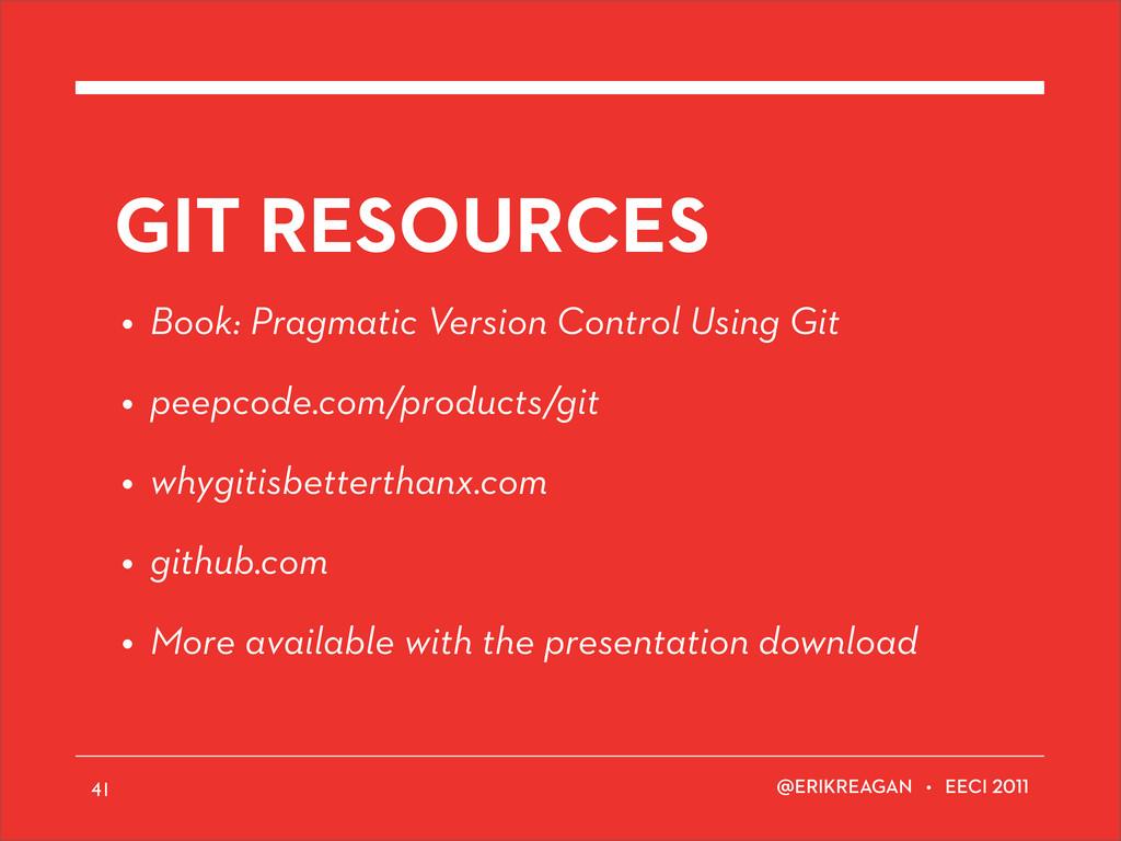 ERIKREAGAN • EECI GIT RESOURCES • Book: Pragmat...