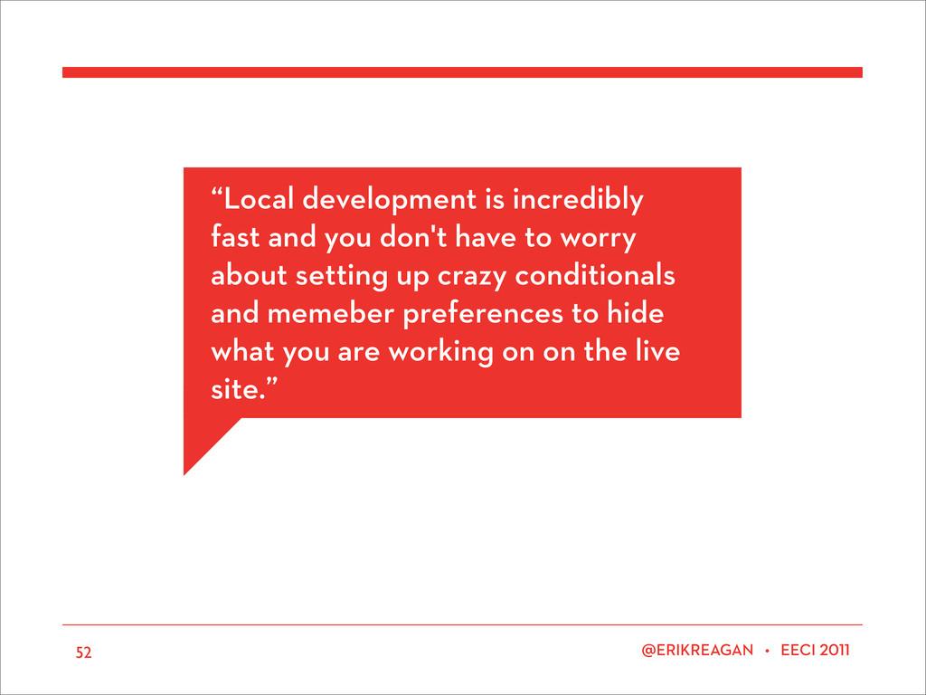 "ERIKREAGAN • EECI 52 ""Local development is incr..."