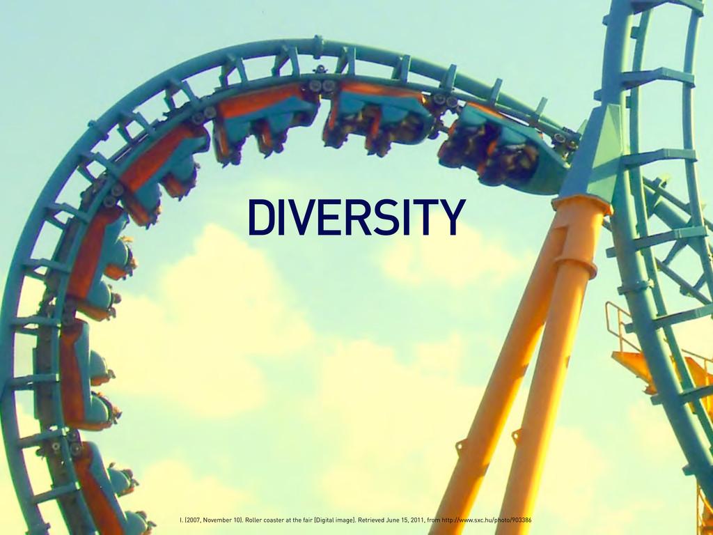 DIVERSITY I. (2007, November 10). Roller coaste...