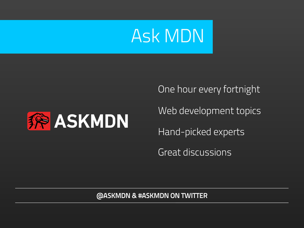 Hand-picked experts @ASKMDN & #ASKMDN ON TWITTE...