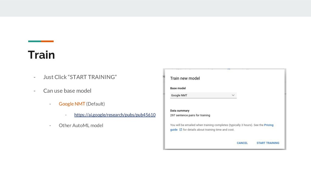 """Train - Just Click """"START TRAINING"""" - Can use b..."""