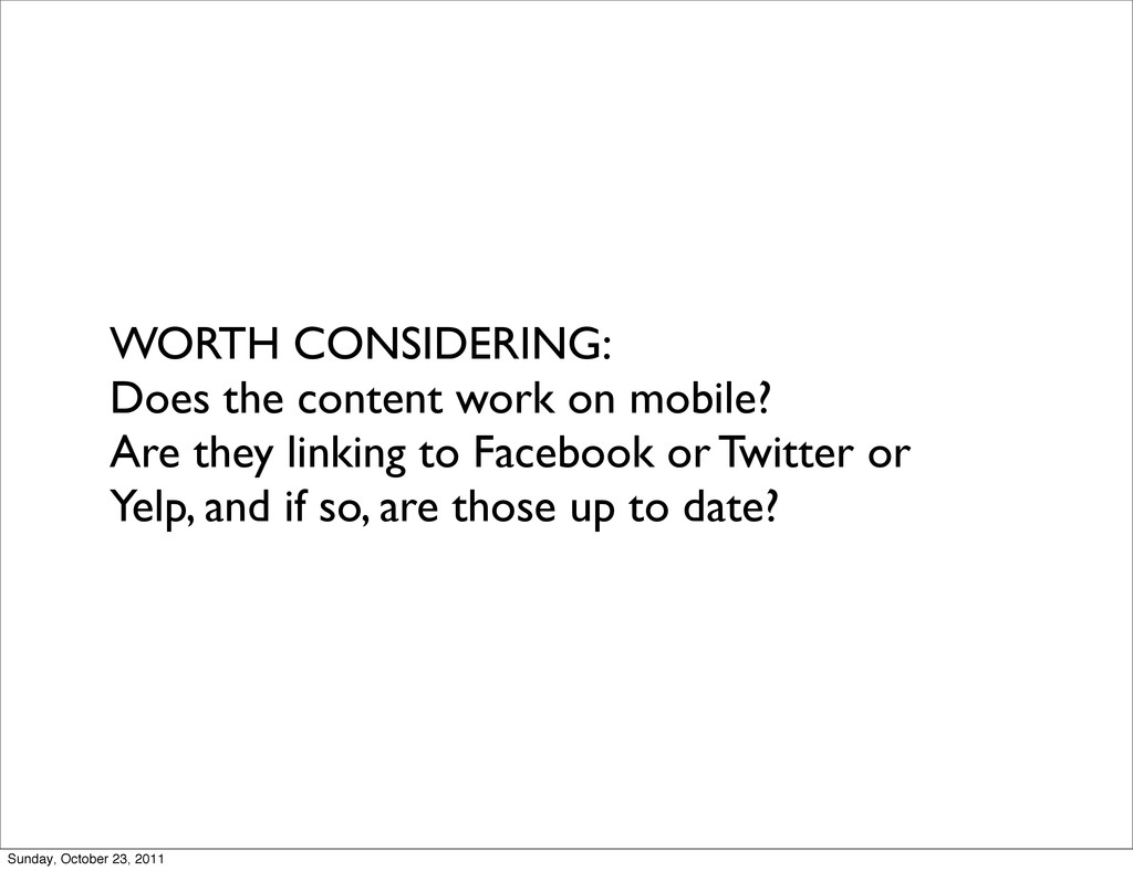WORTH CONSIDERING: Does the content work on mob...