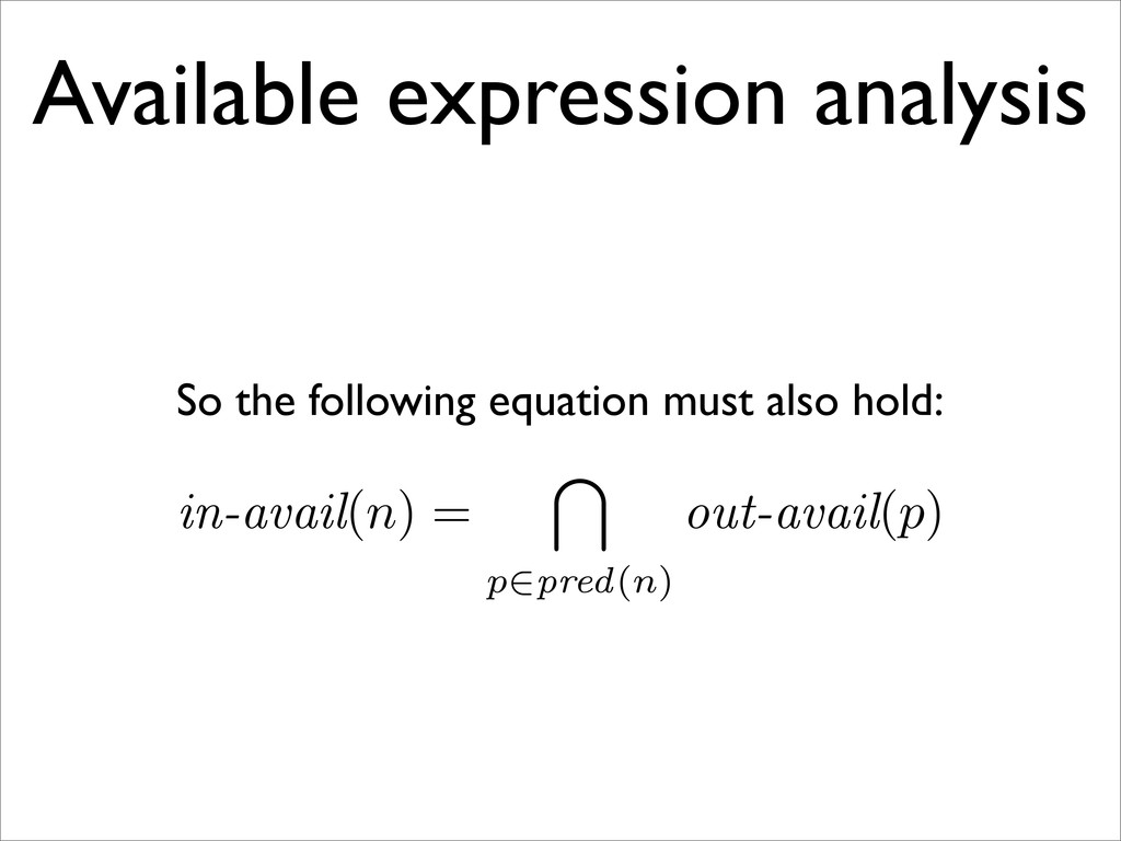Available expression analysis So the following ...