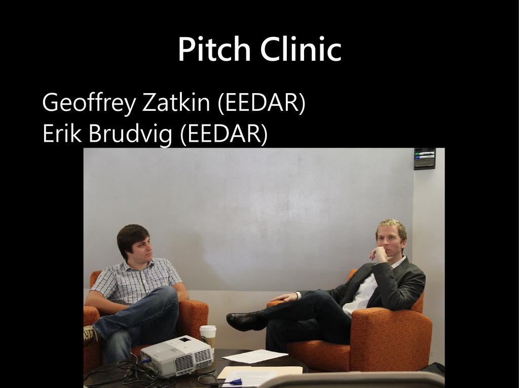 Pitch Clinic Geoffrey Zatkin (EEDAR) Erik Brudv...