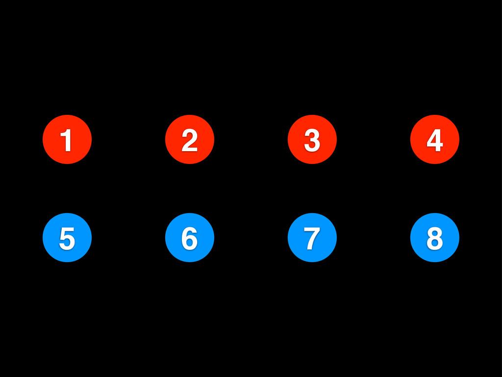 2 1 3 4 6 5 7 8