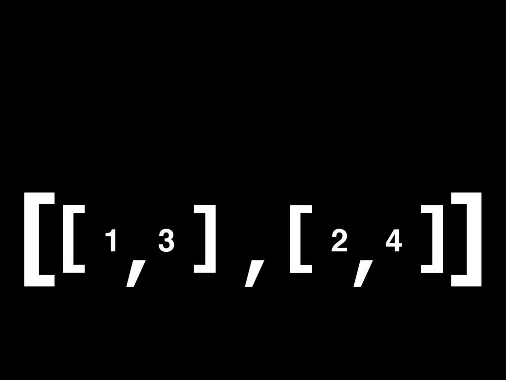 1 3 [ ] , 2 4 [ ] , , [ ]