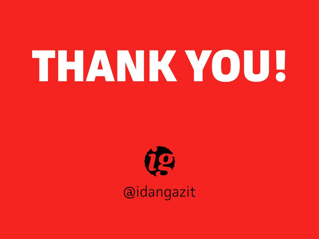 @idangazit THANK YOU!