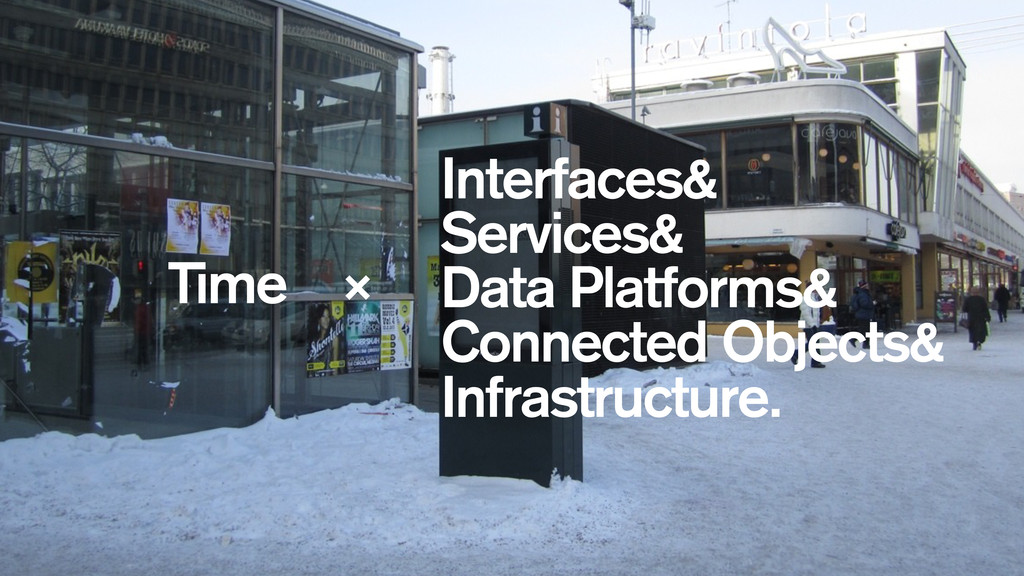 Interfaces& Services& Data Platforms& Connected...