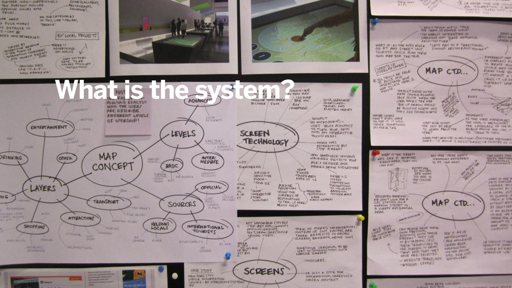 What is the system?