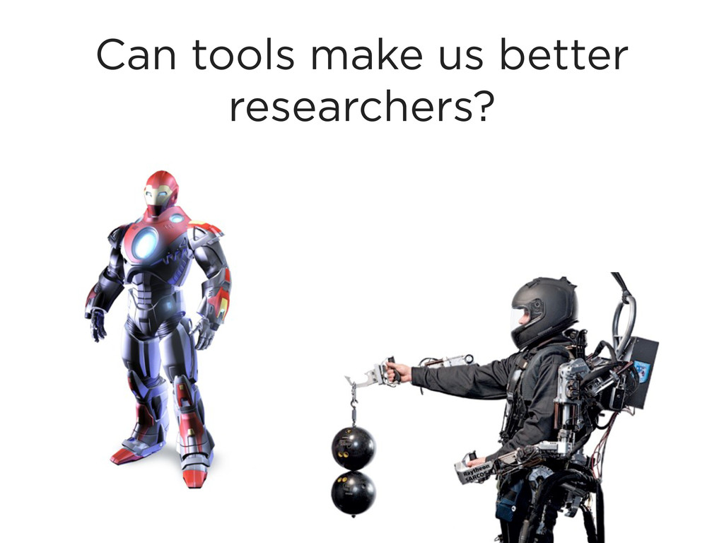 Can tools make us better researchers?