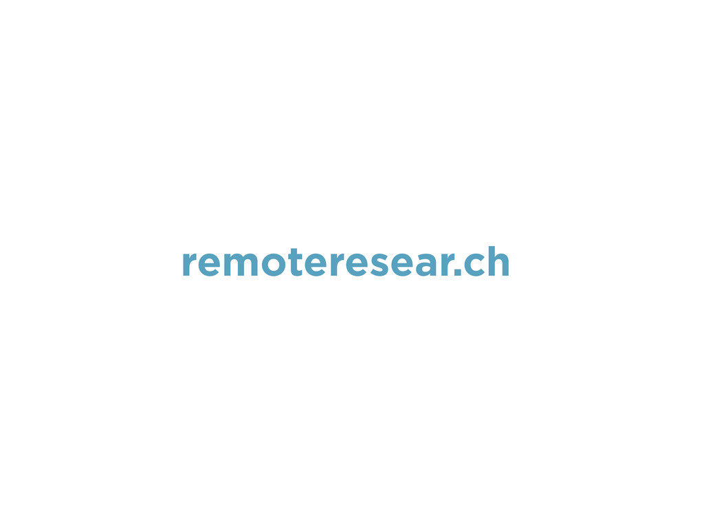 remoteresear.ch