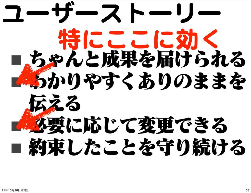 ユーザーストーリー ■ ͪΌΜͱՌΛಧ͚ΒΕΔ ■ Θ͔Γ͋͘͢Γͷ··Λ ͑Δ ■ ඞ...