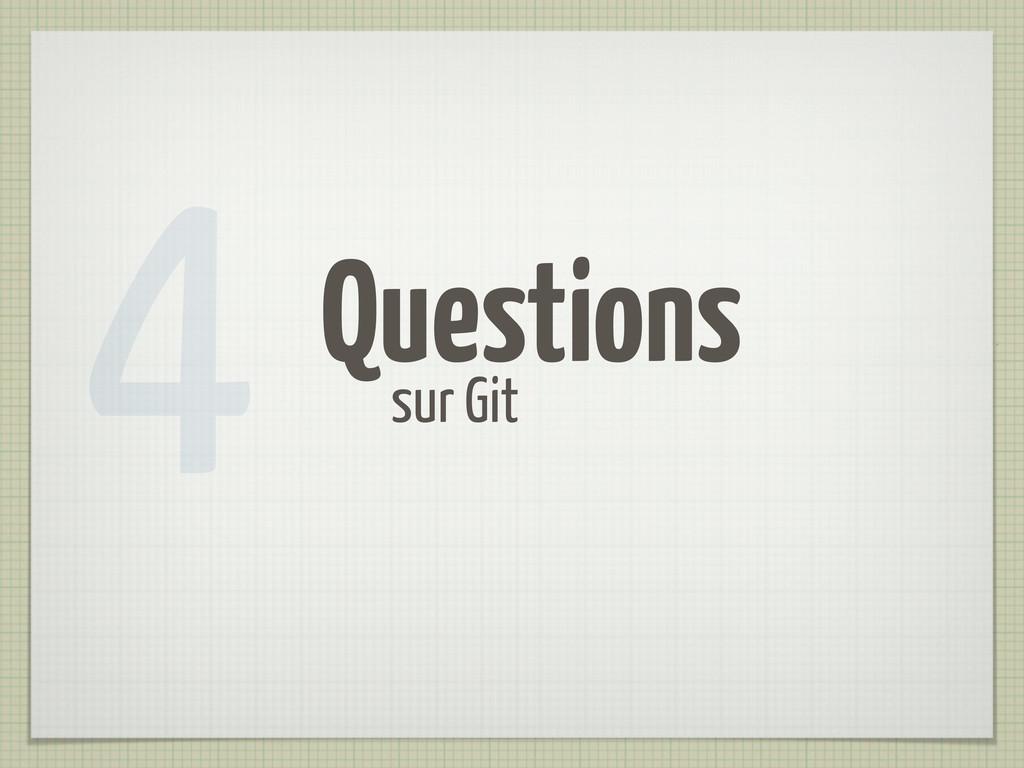 Questions sur Git 4