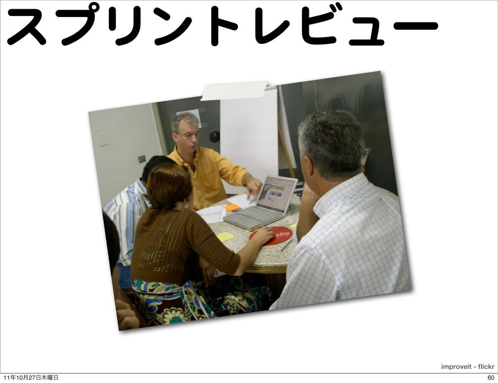 スプリントレビュー improveit - flickr 60 1110݄27༵